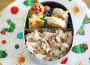 保育園、初めてのお弁当。(息子1歳4か月)