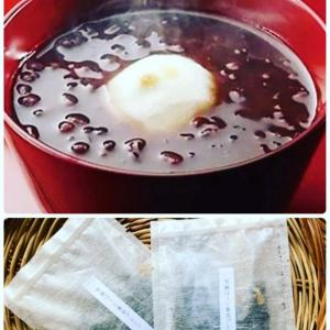 ゆるりのブレンド茶とおぜんざい