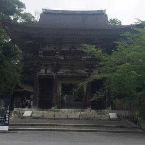 三井寺の観音堂で秘仏開扉中です