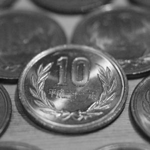 31枚の10円玉