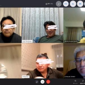 Skype呑み会で気分転換