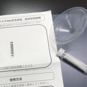 【日本ホテル隔離中】3日目唾液検査の実施