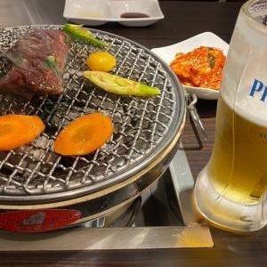 焼肉&ビール!