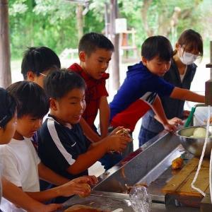 こどもキャンプ #1(/・ω・)/ 玖珠の杜キャンプ場