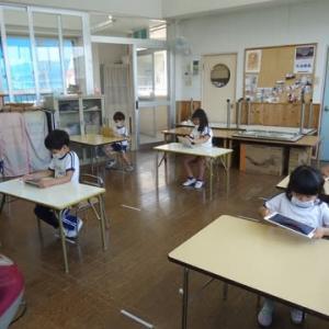 幼稚園課内パソコン教室始まりました★ふじ2