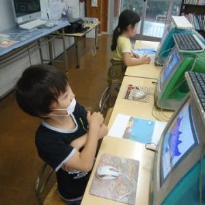 小学生月曜日コース★「海とさかなコンクール」完成