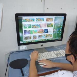月曜日コース・小学生B&Cコース★画像の背景を透過・透明処理を知る