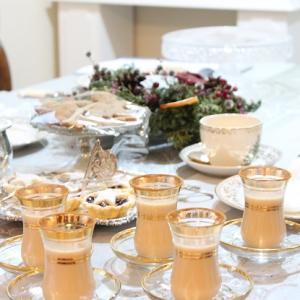 ♪クリスマス紅茶教室でお出ししたミンスパイとジンジャーブレッドビスケット♪
