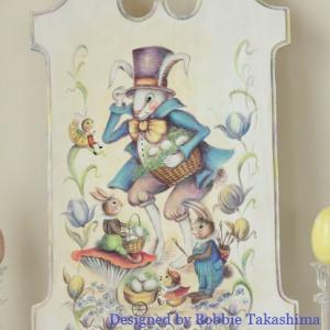 ♪ボビー・タカシマさんデザイン「Easter Rabbit&Helpers」♪