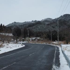 二つ箭山~初積雪