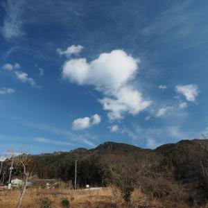 二つ箭山~雲・・