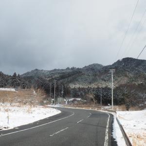 二つ箭山~雪・・
