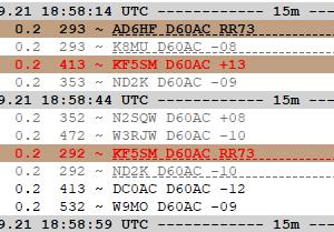 D60AC 15m FT8(F/H) 5 Threds!!!