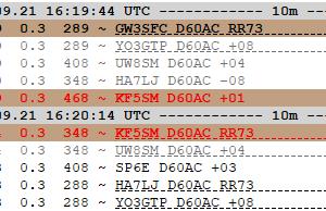 D60AC on 10m FT8(F/H)