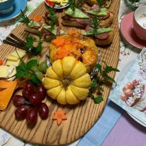 実りの秋の収穫祭ランチになりました