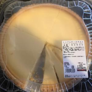 コストコで買ったチーズタルト