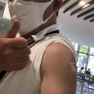 ワクチン接種!!