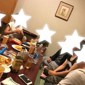 ミーティングという名の飲み会【去年のキャンプの話し】