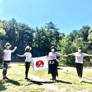 【御礼】名城公園ウォーキングイベント小さなお嬢さんもご参加いただきました!