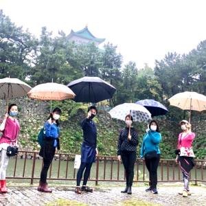 雨の中ご参加いただきありがとうございました! Vol.29名城公園ウォーキングイベント
