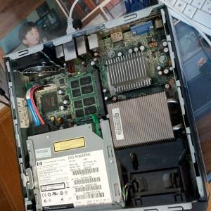 大分前に使っていたパソコンを復活