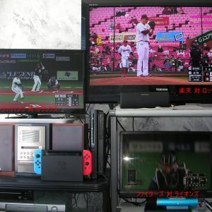 ゴールデンウィークはテレビで野球観戦