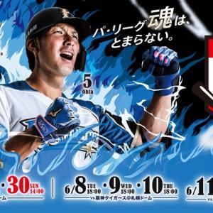 明日は札幌ドームでファイターズ対阪神戦を観戦