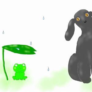 雨の日のおやつ