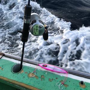 謹賀新年2020、初釣りは中深海で