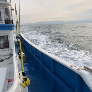 三保沖ソルトルアー、激シブでした 2、西へ南へ