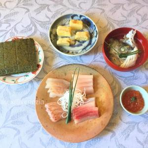 【alex的☆コロナ禍生活】和食はどこまで作れるか?! 食事編 @ヴェネツィア