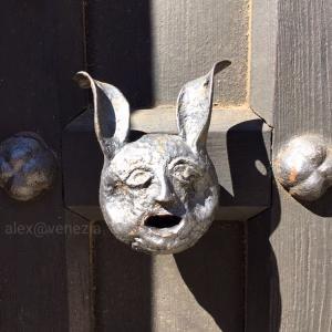 変わったドア&ドアノブ @ヴェネツィア