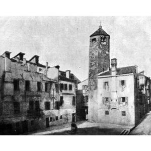 ヴェネツィアの昔の写真(r[◎]<)  現存しない教会