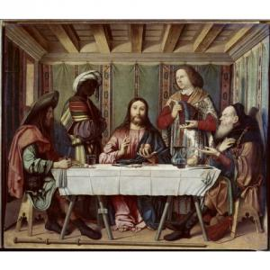 食事は大切♪ 食事がテーマのキリスト教絵画② @ヴェネツィア =エマオの晩餐=