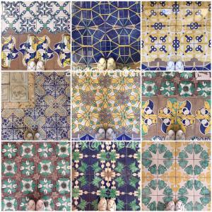 素敵なタイル貼り♪ 床・床・床... 皆さんにも見て欲しい @ナポリの沢山の床♪