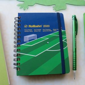 緑色の文房具 ロルバーンノート