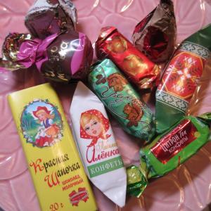 ベラルーシ製のチョコレート「コモナーカ」