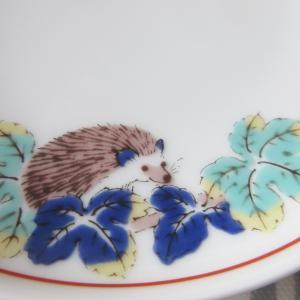 ハリネズミとカメレオンの小皿
