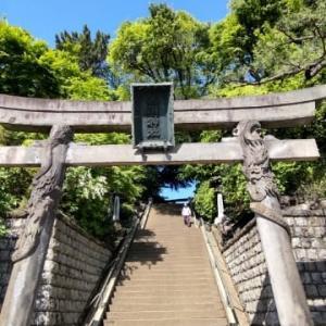 今朝の品川神社