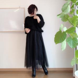 【GU】アラフィフでもイケる!一目惚れスカート