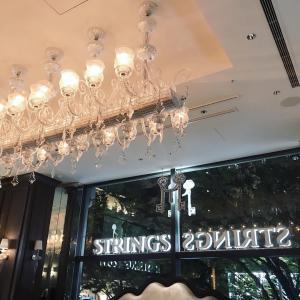 NYスタイルのプチluxeなレストランTHE STRINGS 表参道DUMBOで誕生日会