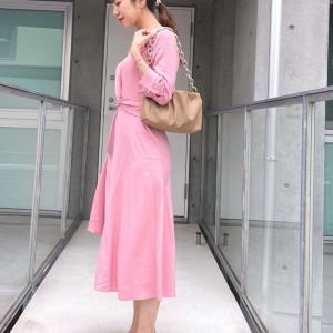 ZOZOTOWNで購入したピンクのお出かけワンピース by WEAR