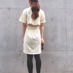 今年らしいライトイエローのTシャツワンピ by WEAR