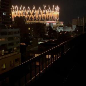 オリンピック開会式の花火 23:13