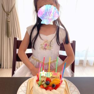 7歳お誕生日をむかえました♡