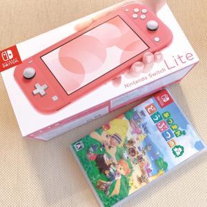 Nintendo Switch lite♡きた!