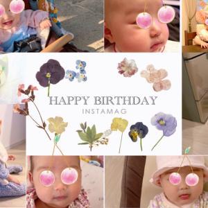 1歳♡HAPPY BIRTHDAY♡