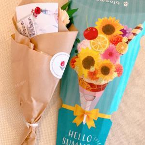 お花のサブスク♡ポストに届いたブーケ