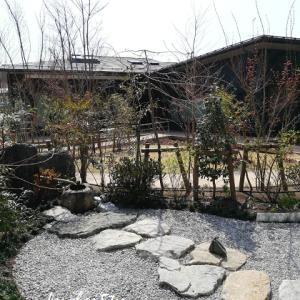 【エリムの泉 】~春の茶庭より~水琴窟の音に癒やされて♪