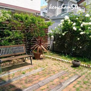 【お庭のリフォーム】バラを愛でる庭に…散水セット♪